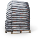 Palette de 70 sacs (soit 1050 kg)