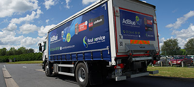 Camion Ad Blue